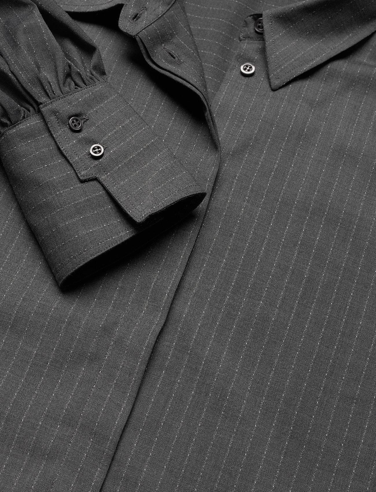 Dagmar - Melisa pinstripe - langærmede skjorter - grey pinstripe - 2