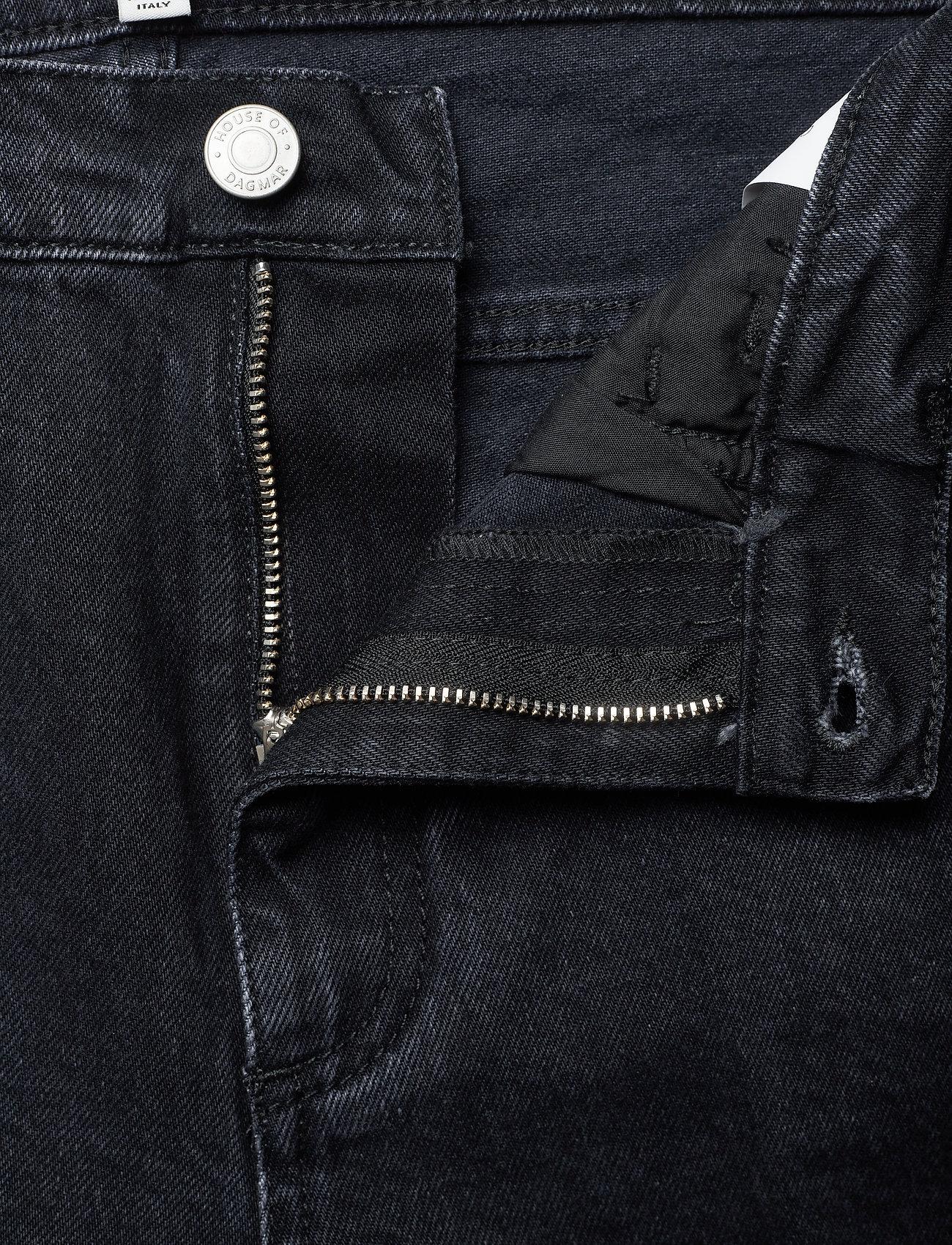 Dagmar - Alba - straight regular - washed black - 3