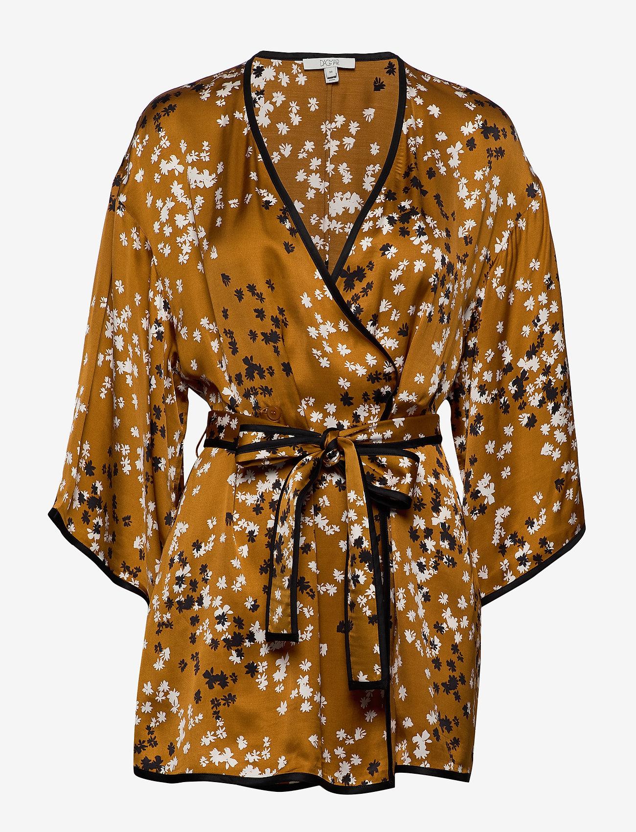 Dagmar - Alanis - kimonoer - caramel print - 0