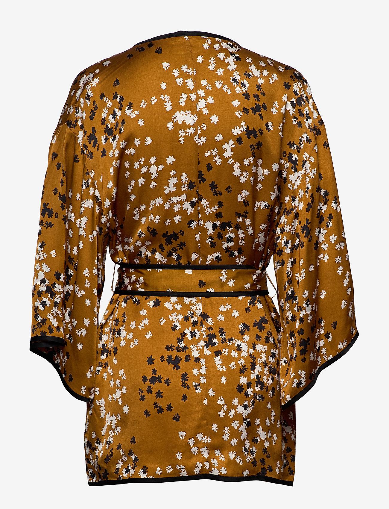 Dagmar - Alanis - kimonoer - caramel print - 1