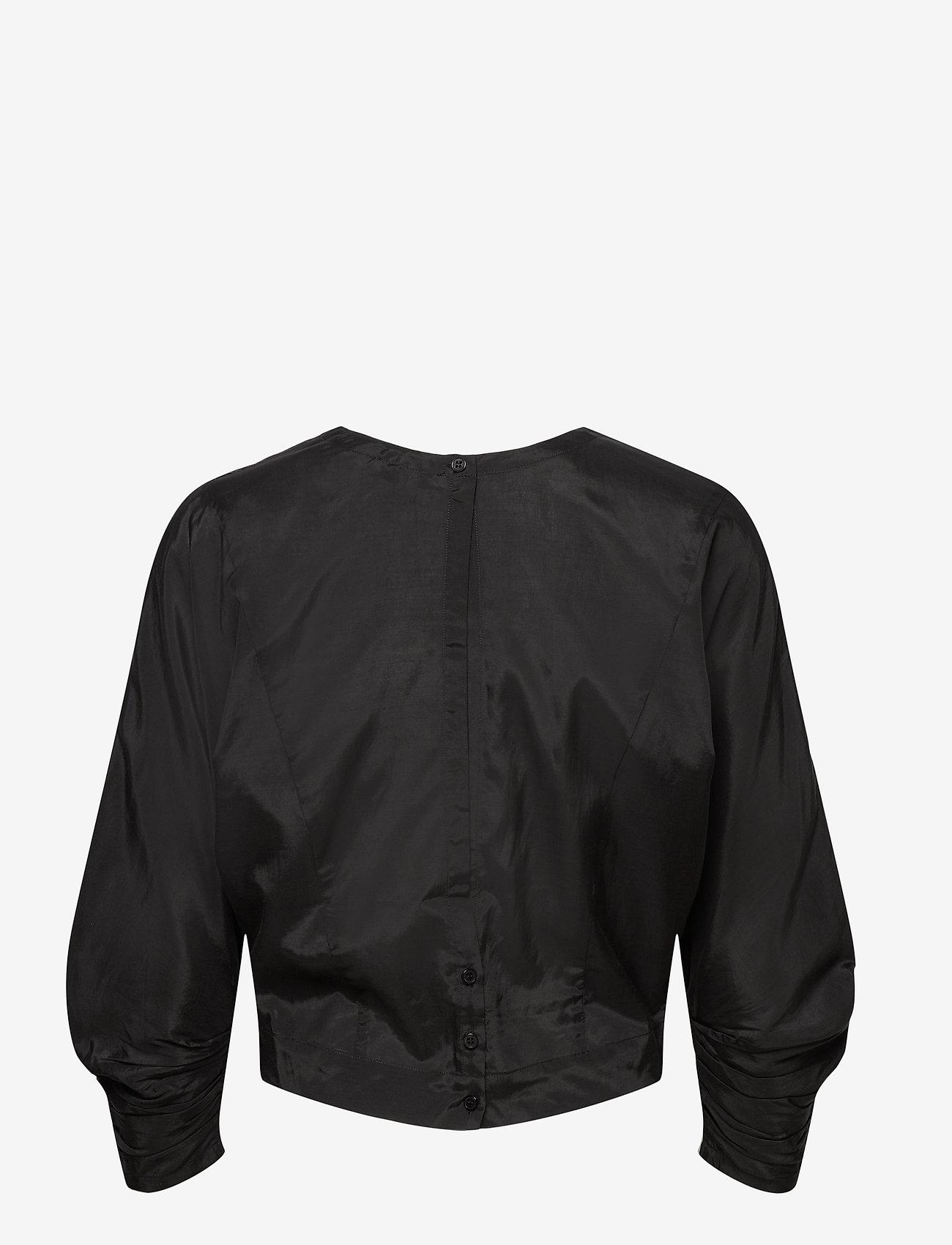 Dagmar - Sigrid - langærmede bluser - black - 1