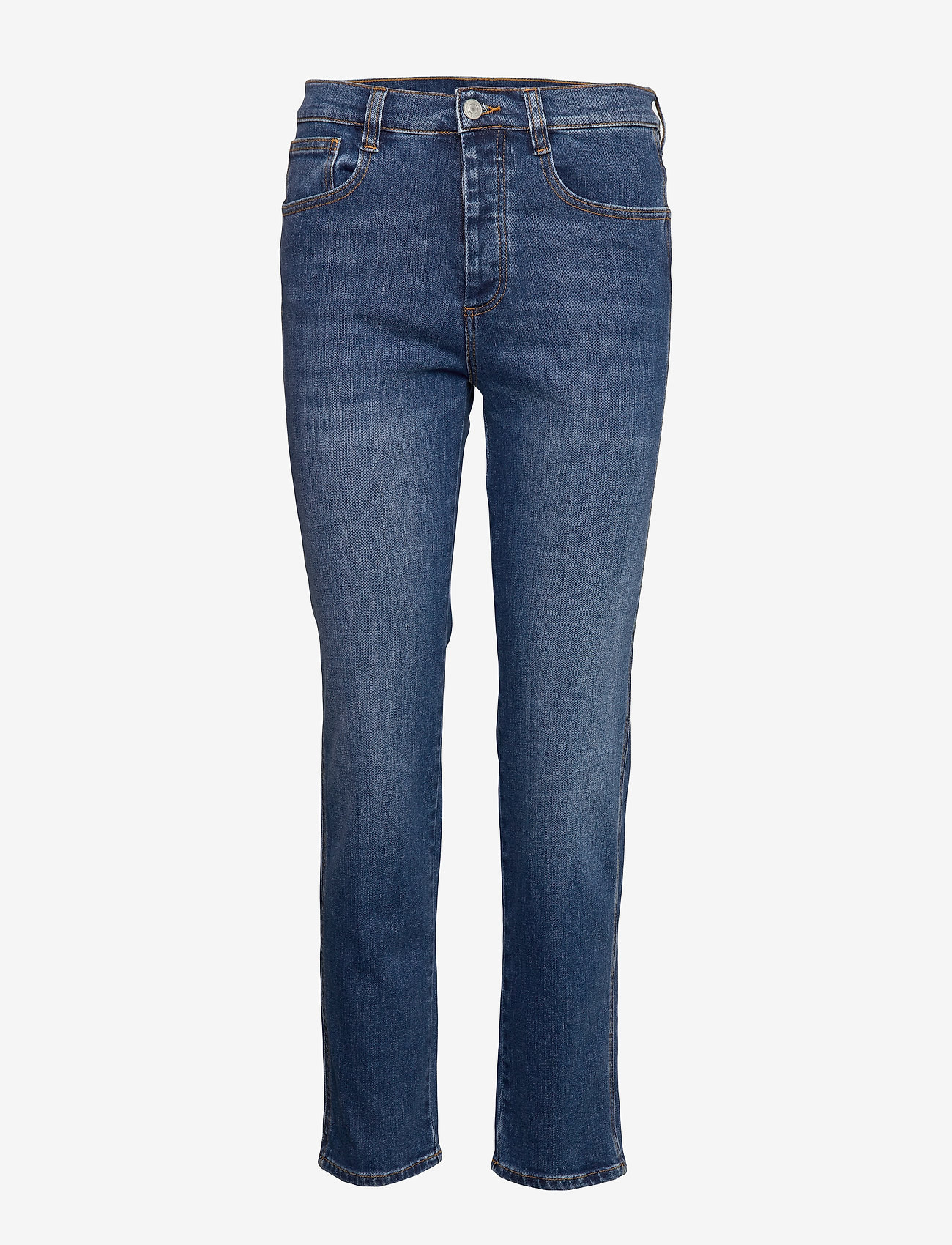 Dagmar - Devine - straight jeans - washed blue - 0