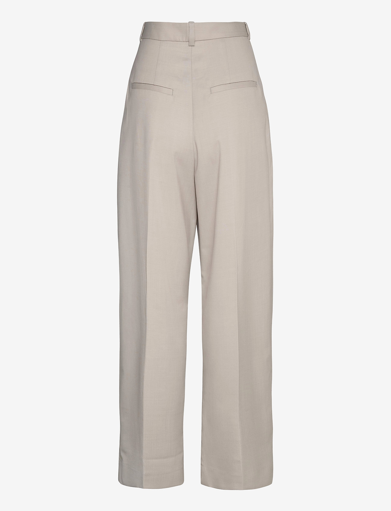 Dagmar - Valentina - spodnie szerokie - light grey - 1