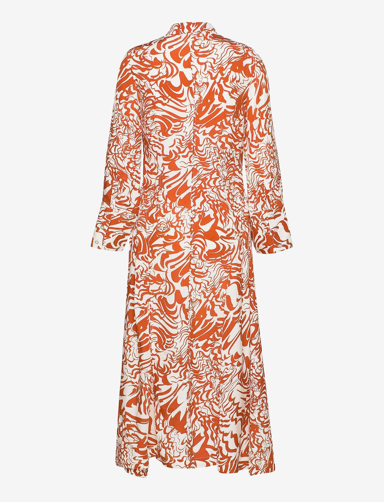 Dagmar - Valeria - alledaagse jurken - abstract flower - 1