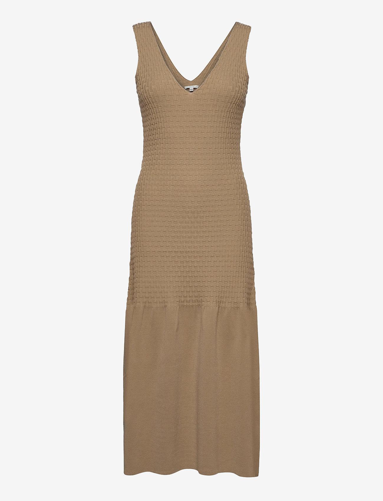 Dagmar - Gemma - bodycon jurken - beige - 0