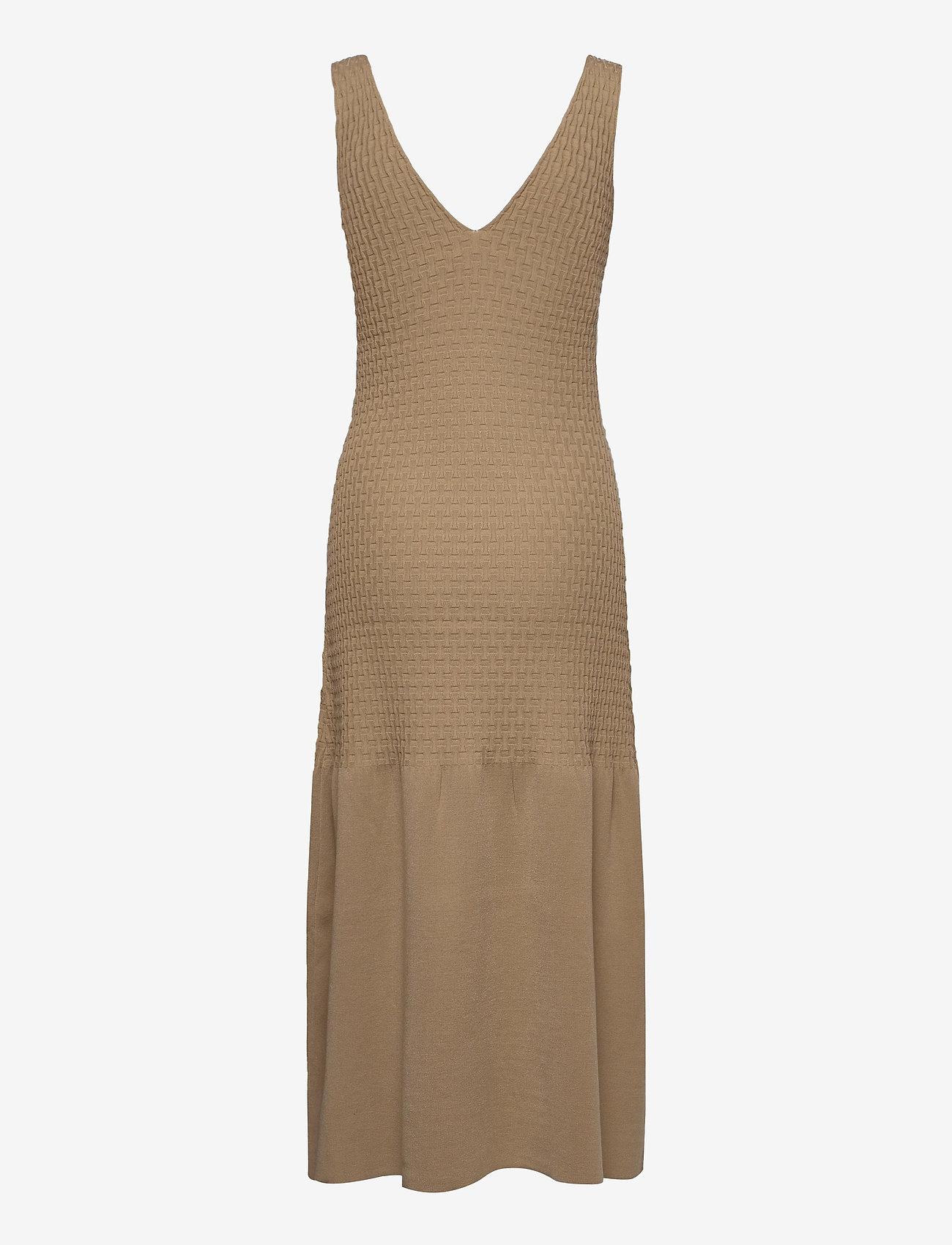 Dagmar - Gemma - bodycon jurken - beige - 1