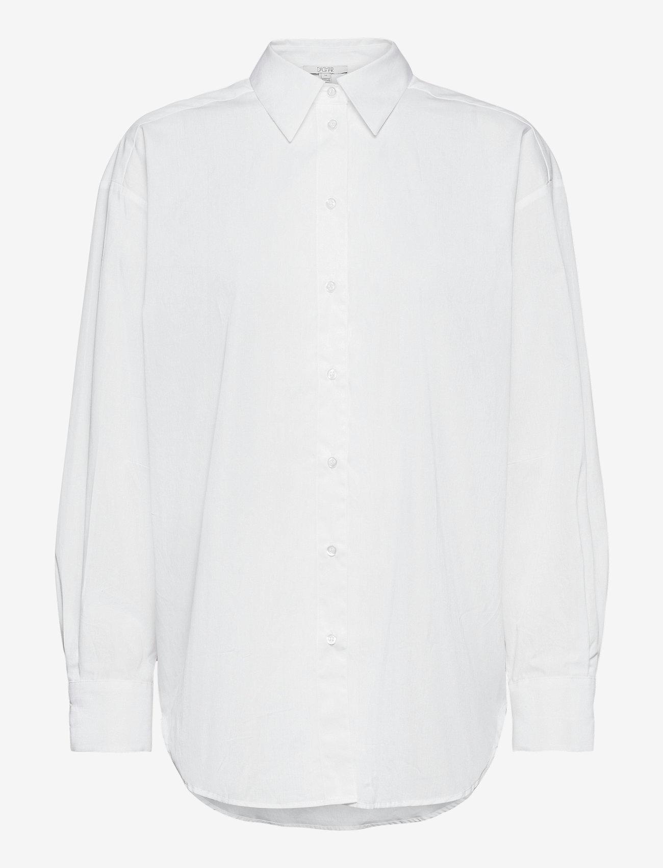 Dagmar - Gina cotton - langærmede skjorter - white - 0