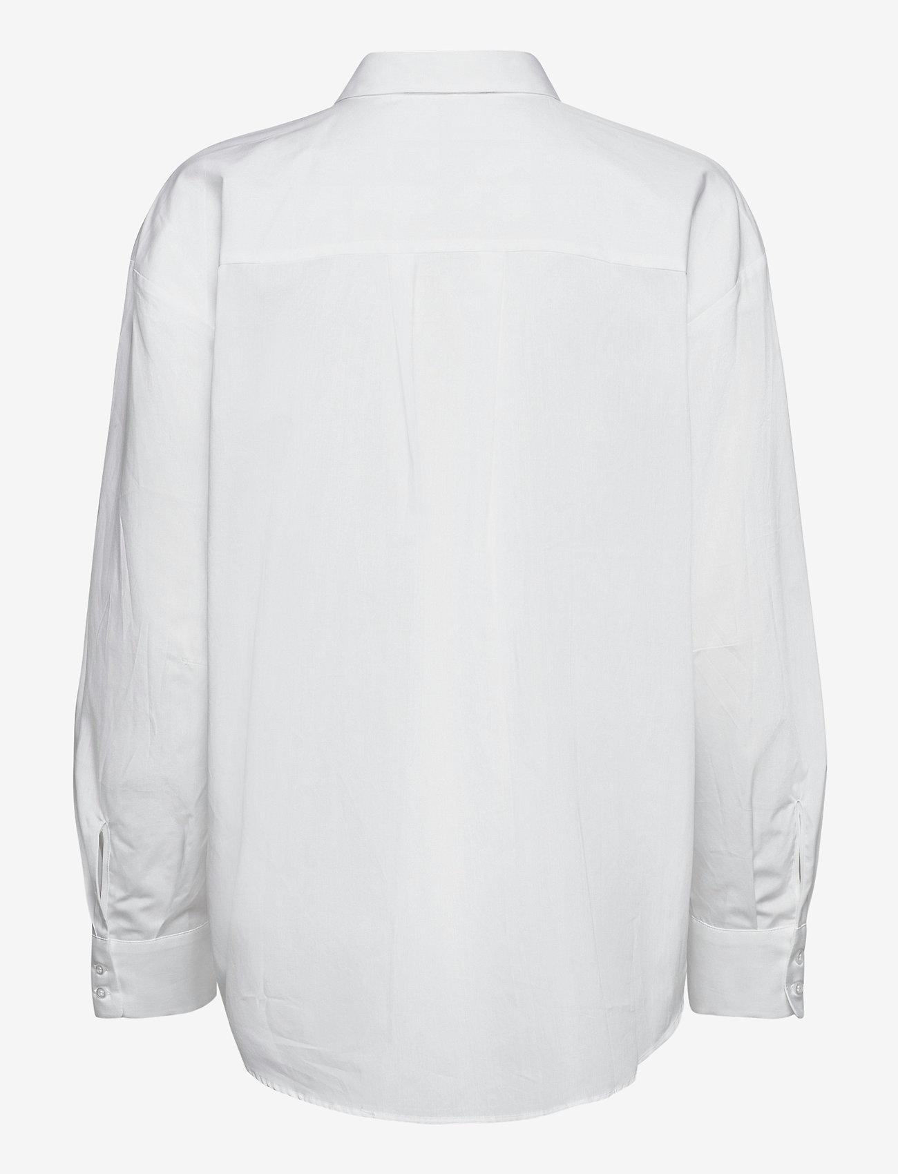 Dagmar - Gina cotton - langærmede skjorter - white - 1