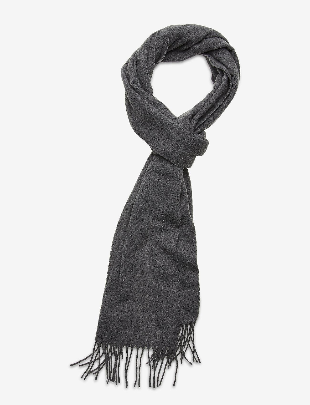 Dagmar - Wool scarf - accessories - grey melange - 0