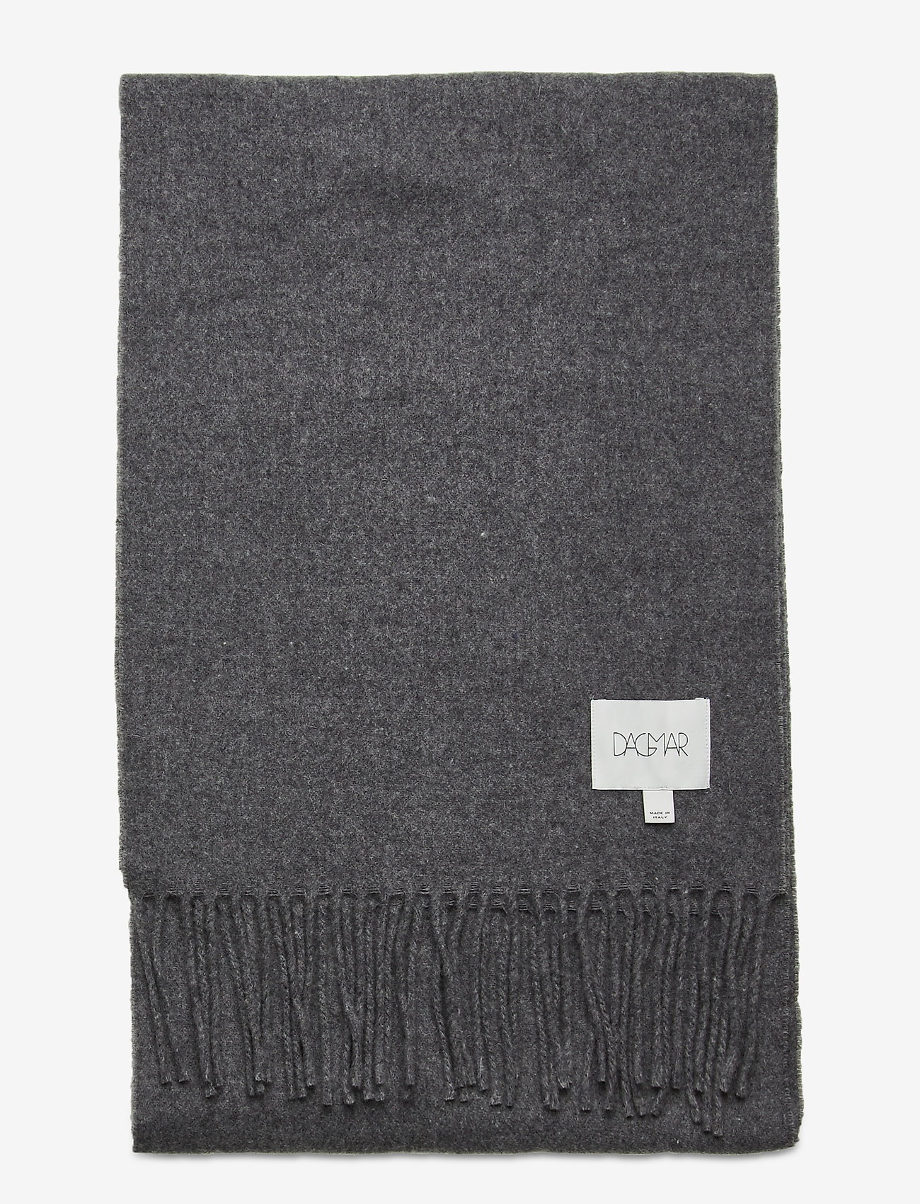 Dagmar - Wool scarf - accessories - grey melange - 1
