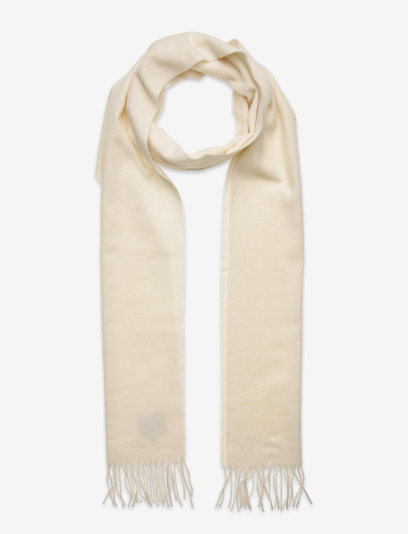Dagmar - Wool scarf - accessories - white - 0