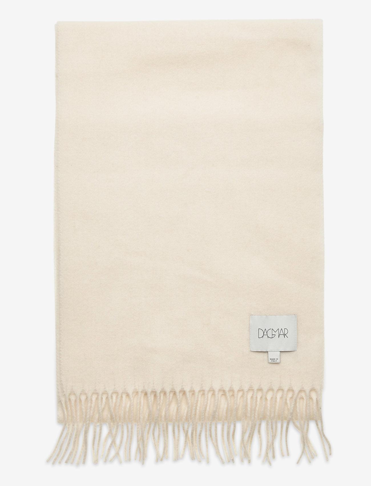 Dagmar - Wool scarf - accessories - white - 1