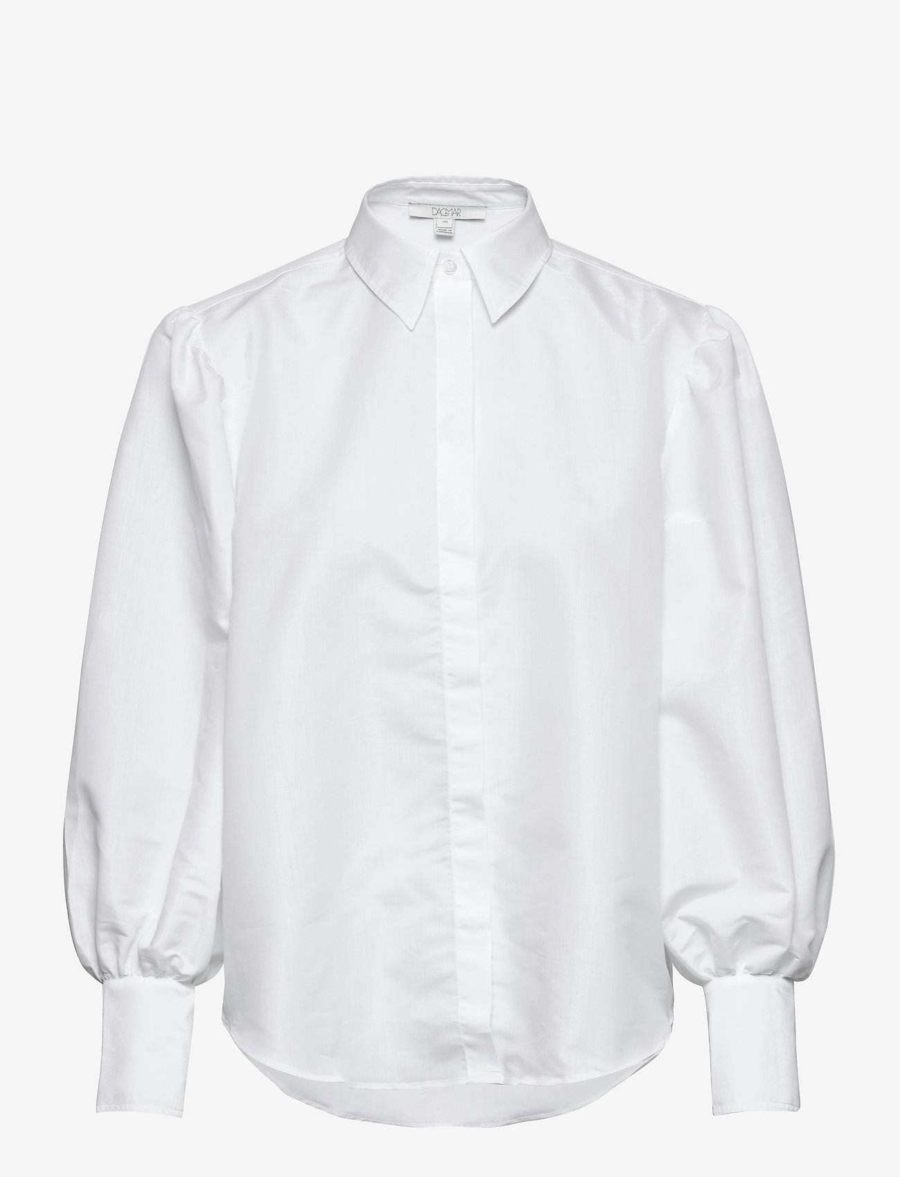 Dagmar - Melisa - langærmede skjorter - white - 0