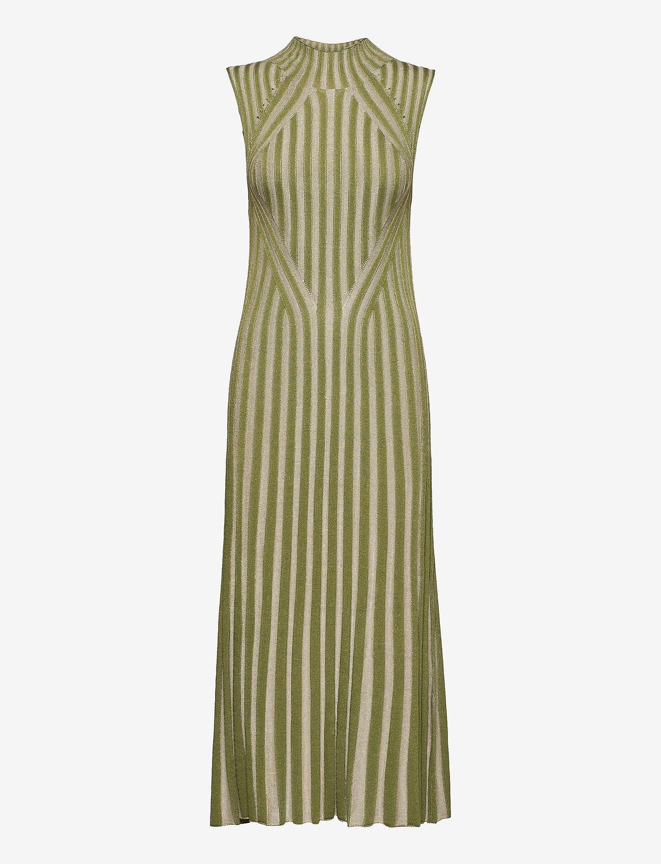 Dagmar - Margherita - bodycon dresses - sage - 0
