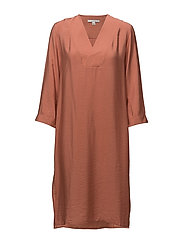 Candice Dress - TERRACOTTA