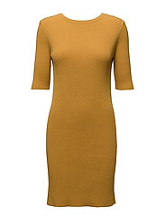 Nina Dress - SAFFRON