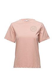 Rachel logo t-shirt - GLAZED PINK