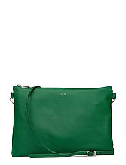 Leather strap bag - BRIGHT GREEN