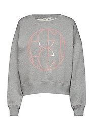 Jam logo sweatshirt - GREY MELANGE