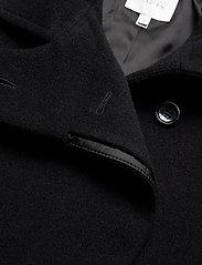Dagmar - Velma - wełniane kurtki - black - 3