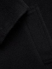 Dagmar - Velma - wełniane kurtki - black - 4