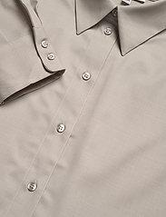 Dagmar - Gina wool - langærmede skjorter - light grey - 2