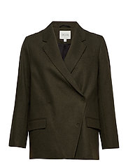 Anissa blazer - DARK GREEN