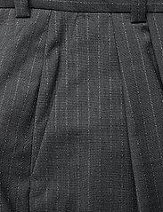 Dagmar - Valentina pinstripe - straight leg trousers - grey pinstripe - 2