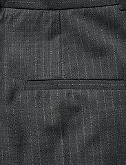 Dagmar - Valentina pinstripe - straight leg trousers - grey pinstripe - 4