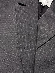 Dagmar - Charlotte pinstripe - oversized blazers - grey pinstripe - 2
