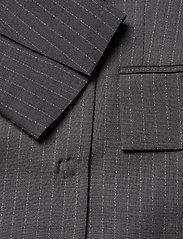 Dagmar - Charlotte pinstripe - oversized blazers - grey pinstripe - 3