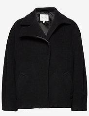 Dagmar - Velma - wełniane kurtki - black - 0