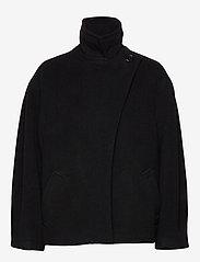 Dagmar - Velma - wełniane kurtki - black - 1