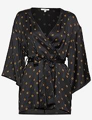 Dagmar - Alanis - kimonoer - black print - 0