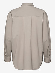 Dagmar - Gina wool - langærmede skjorter - light grey - 1