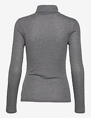 Dagmar - Remi - t-shirts - dark grey melange - 1