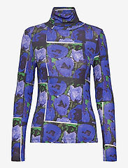Dagmar - Remi print - pitkähihaiset puserot - flower print - 0