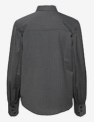 Dagmar - Melisa pinstripe - langærmede skjorter - grey pinstripe - 1