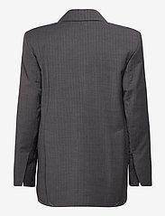 Dagmar - Charlotte pinstripe - oversized blazers - grey pinstripe - 1