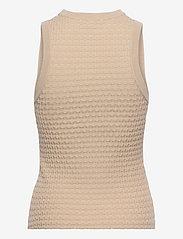 Dagmar - Renna - knitted vests - oat - 1
