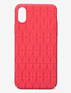 iPhone case X - mobilskal - lipstick red