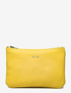 Small zip purse - SUN YELLOW