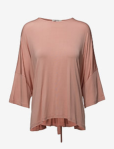 Morina - blouses à manches longues - glazed pink