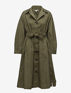 Mika - trench coats - utility green