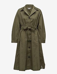 Mika - trenchcoats - utility green