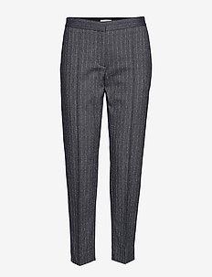 Harriet - slim fit spodnie - pinstripe
