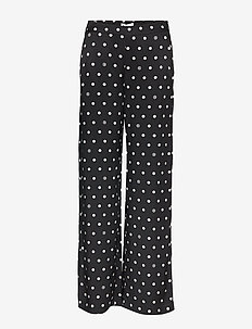 Ebba - BLACK + OFF WHITE DOT