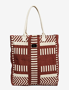 Beach bag - BURGUNDY