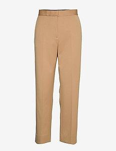 Judith - straight leg trousers - camel