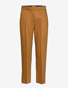 Judith - straight leg trousers - caramel